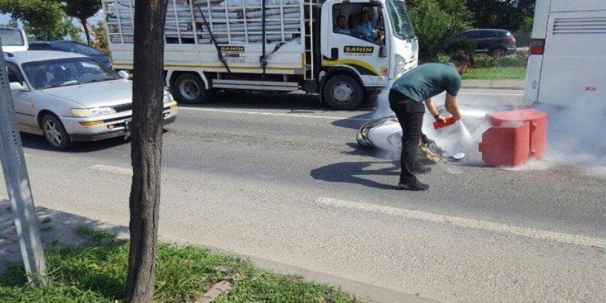 Fatsa ve Korgan'da trafik kazaları: 3 yaralı