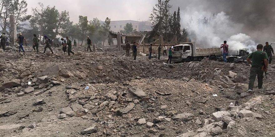 TSK, terör örgütü PYD'yi vurdu