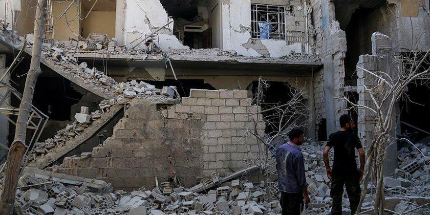 Rejim güçleri, Doğu Guta'da yerleşim alanlarını bombaladı: 7 ölü, 13 yaralı