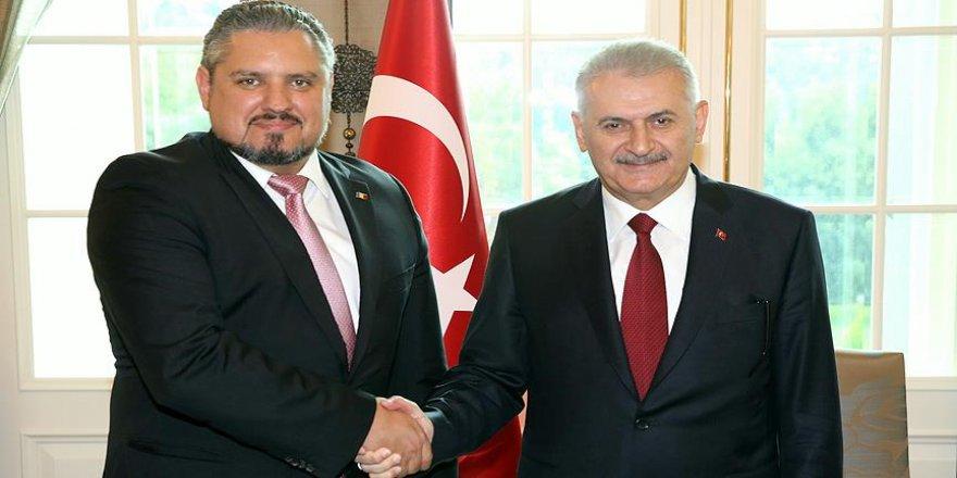 Yıldırım, Moldova Başbakan Yardımcısı Galbur ile görüştü