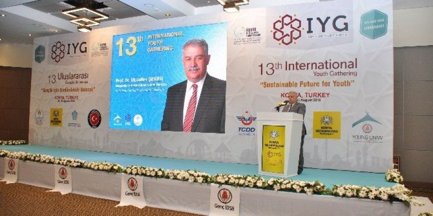 NEÜ 13. Uluslararası Gençlik Buluşması'nda önemli etkinliklere imza attı