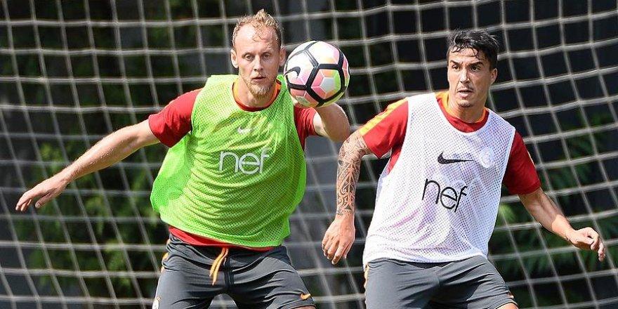 Josue Galatasaray'da ilk antrenmanına çıktı