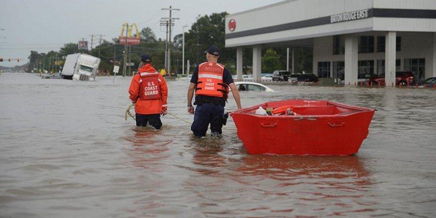 Obama sel felaketinin vurduğu Louisiana'da