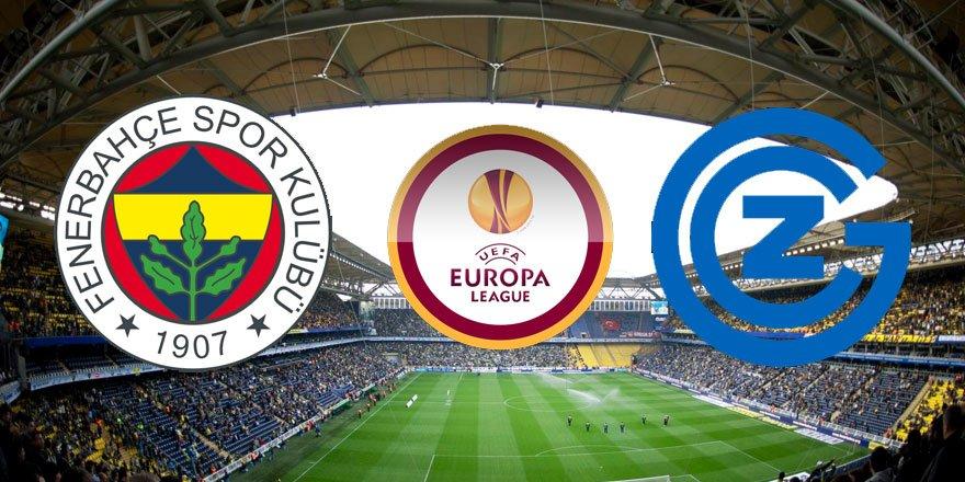 Fenerbahçe, 5. kez gruplara kalmak için sahada