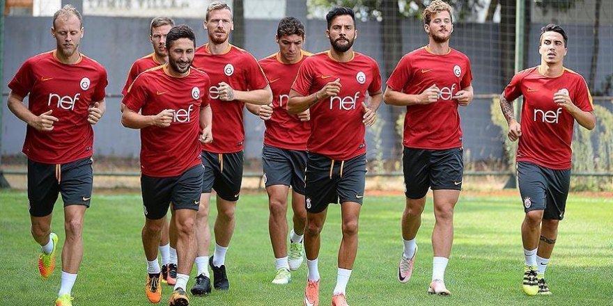 Galatasaray'da Akhisar Belediyespor maçına hazırlanıyor