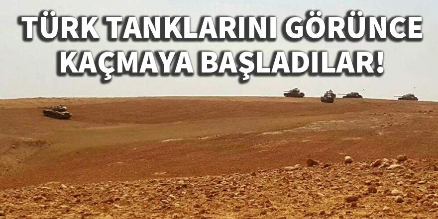 'Türk tanklarını görünce kaçmaya başladılar'
