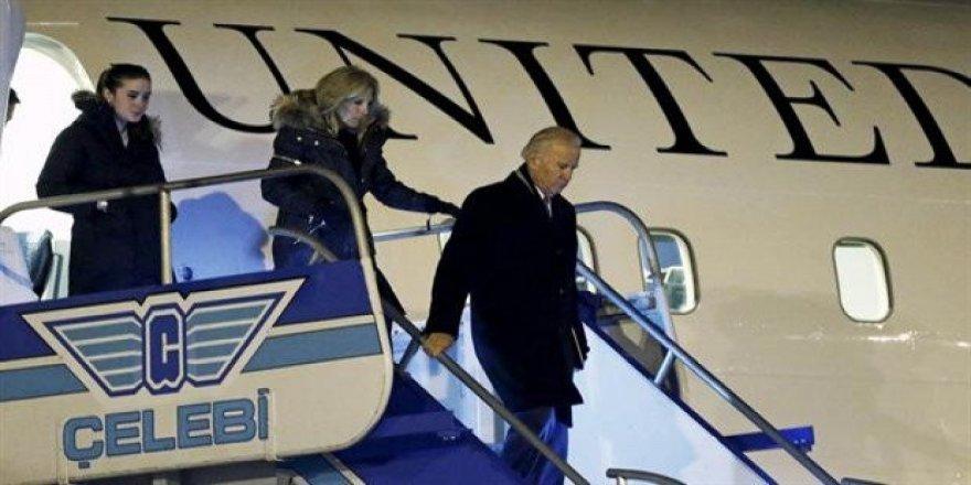 Joe Biden'ı kim karşıladı?