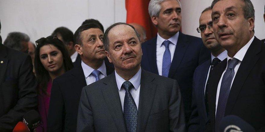 IKBY Başkanı Barzani TBMM'de
