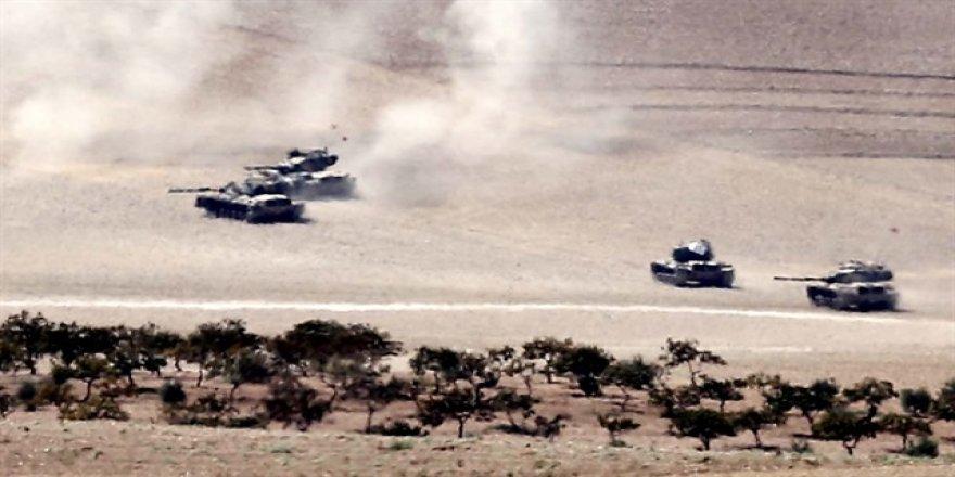 Cerablus'ta 46 DAEŞ'li terörist öldürüldü