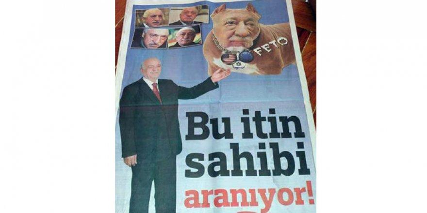FETÖ için gazeteye 'Bu İtin Sahibi Aranıyor' ilanı verdiler