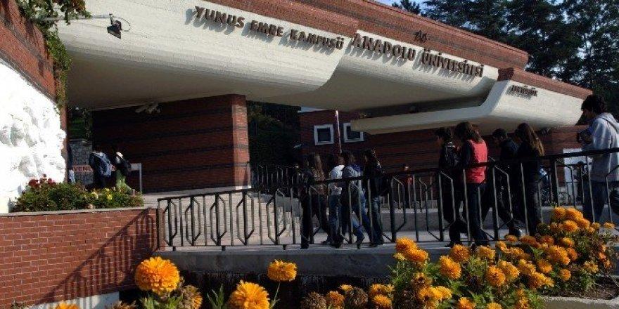 Anadolu Üniversitesi kontenjanlarının yüzde 99,38'lik bölümü doldu
