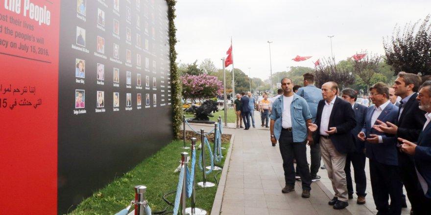 Davutoğlu'ndan Topbaş'a taziye ziyareti