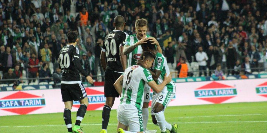Beşiktaş ile Konyaspor 31. randevuda
