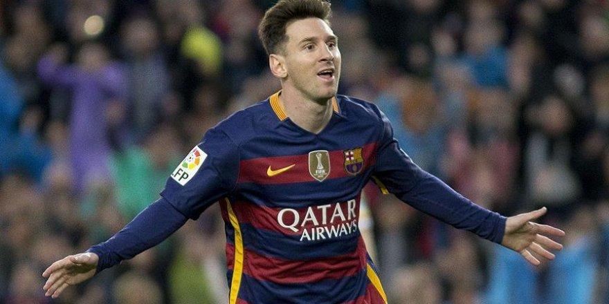 Avrupa'da yılın golü Messi'den