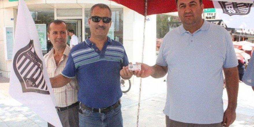 Nazilli Belediyespor'da ilk kombine heyecanı