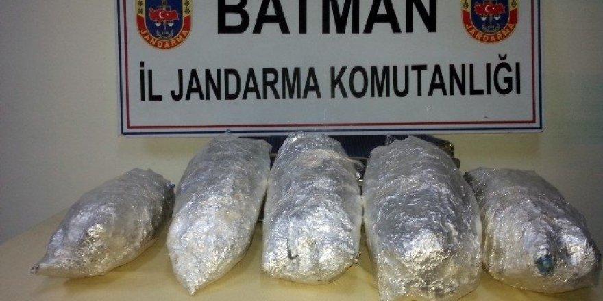 Batman'da kaçak sigara ve uyuşturucu operasyonu