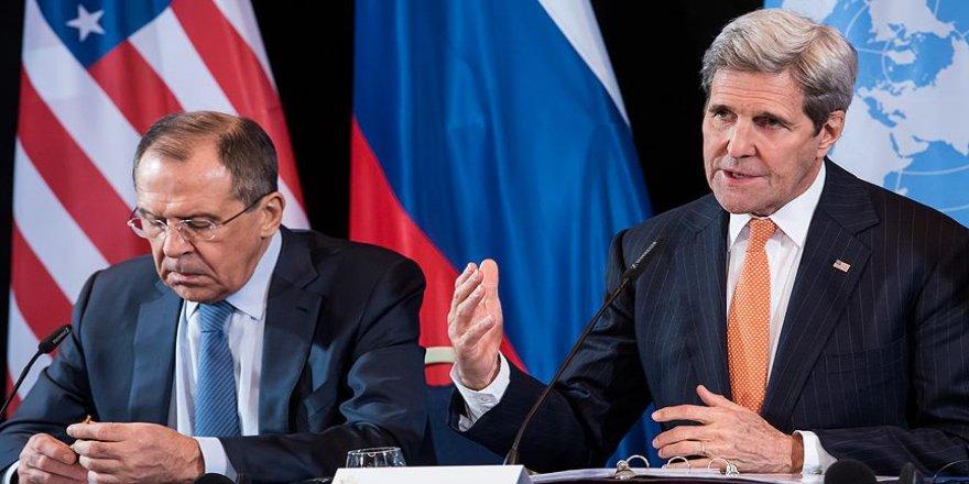 Kerry ve Lavrov Suriye konusunu görüşecek