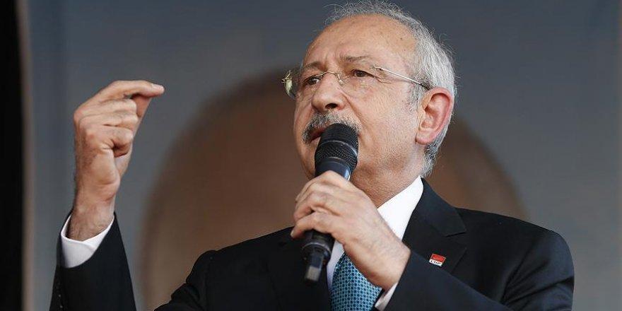 Kılıçdaroğlu: Ordumuz Cerablus'a girdi sonuna kadar arkasındayız