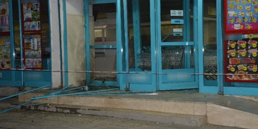 Diyarbakır'da markete saldırı