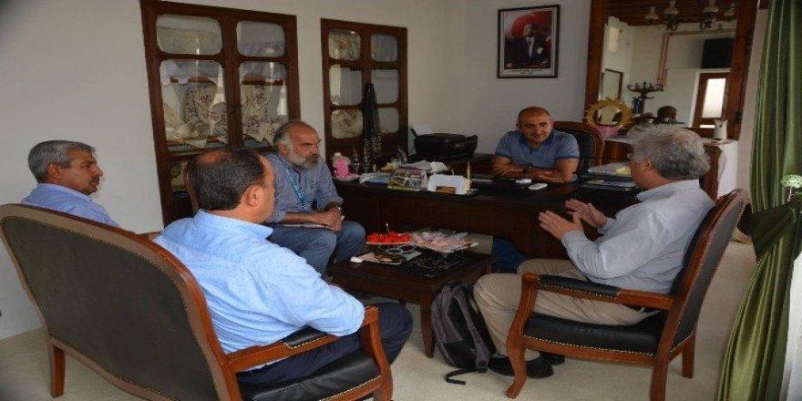 BM'den Belediye Başkanı Kara'ya ziyaret