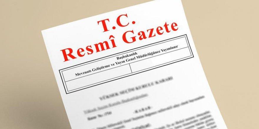 Bazı illere ilişkin Bakanlar Kurulu kararı Resmi Gazete'de