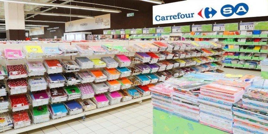 CarrefourSA'dan kırtasiye malzemelerine ikinci test