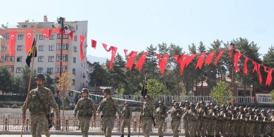 Erzurum'da geniş güvenlik tedbirleri altında 30 Ağustos provası yapıldı