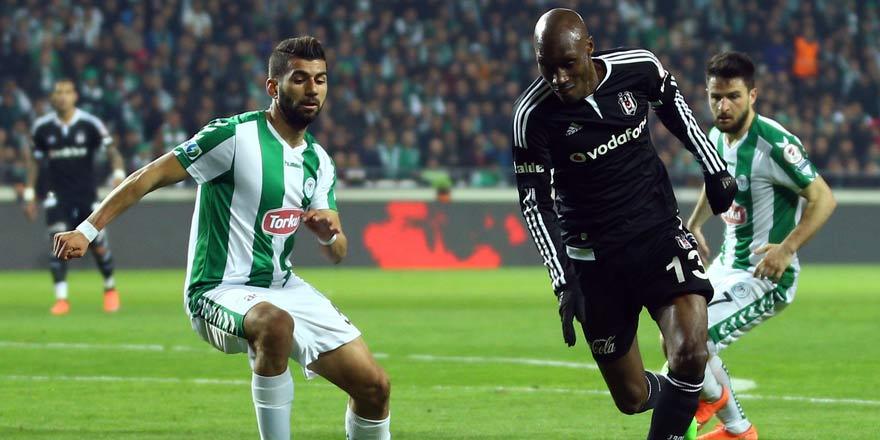 Atiker Konyaspor - Beşiktaş muhtemel 11'ler