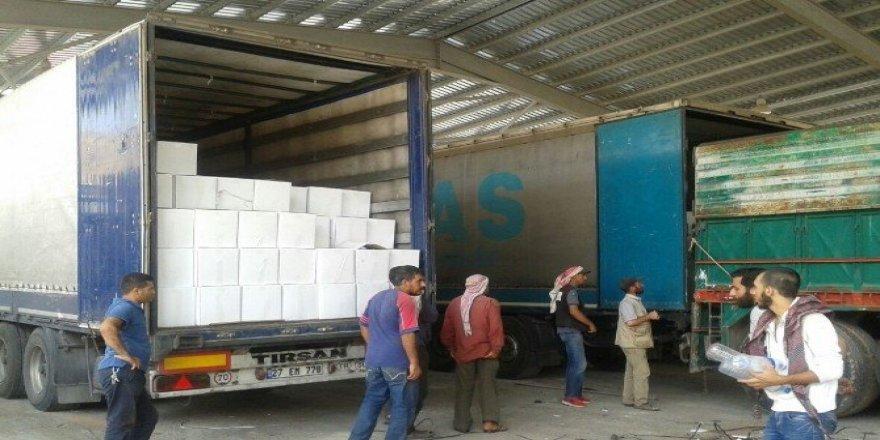 Türkiye Diyanet Vakfından Halep'e insani yardım