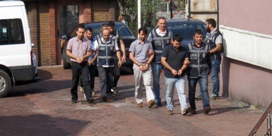Bartın'da 5 kişi FETÖ soruşturması kapsamında adliyeye sevk edildi
