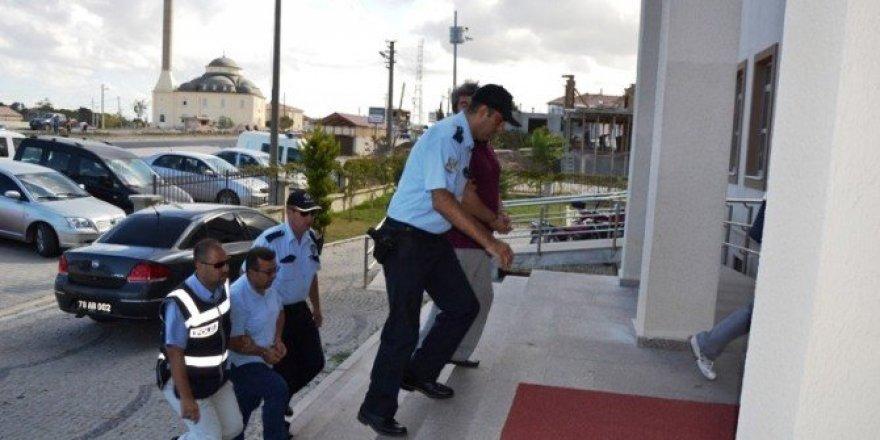 Biga'da 15 kişi gözaltına alındı