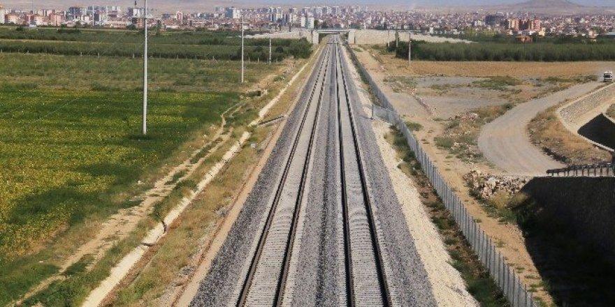 YHT ile Konya'dan Karaman'a 40 dakikada gidilecek