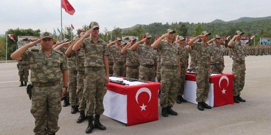 Amasya'da Mehmetçikler yemin etti