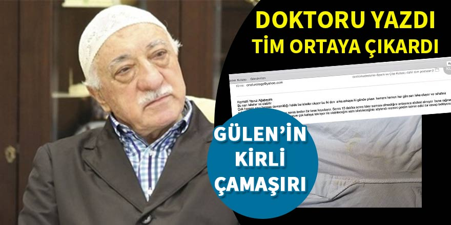 Ayyıldız Tim Gülen'in kirli çamaşırlarını pazara çıkardı