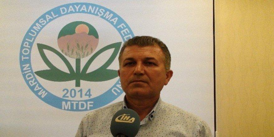 Kızıltepe'de STK'lardan 'Fırat Kalkanı' harekatına destek