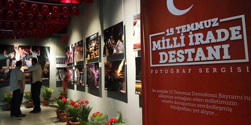 '15 Temmuz Milli İrade Destanı Fotoğraf Sergisi' açıldı