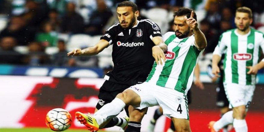 Konyaspor-Beşiktaş maçının 11'leri belli oldu