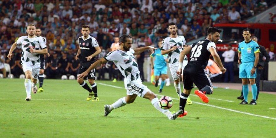 Konya'da bol gollü maçta kazanan çıkmadı