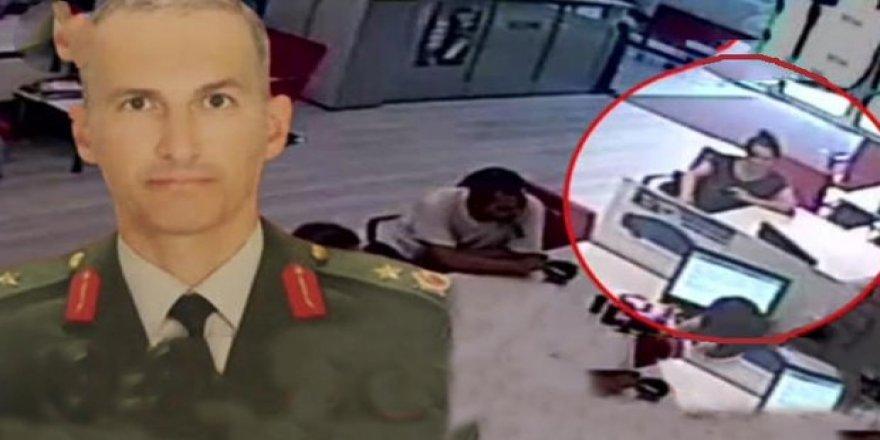 Darbeci generalin eşi mal kaçırmak isterken yakalandı