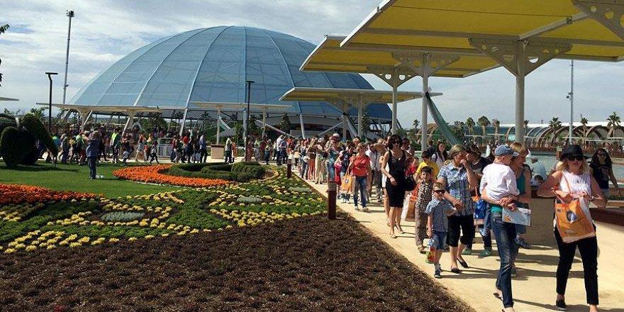 'EXPO 2016 Antalya'yı 2 milyon kişi ziyaret etti'