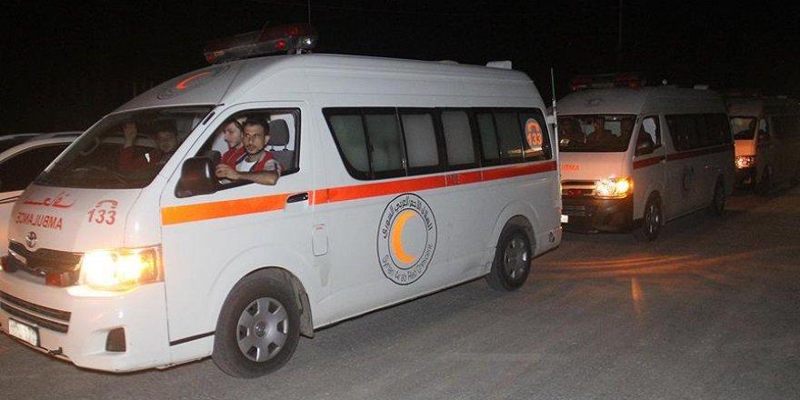 Dareyya'dan çıkan siviller Hama'nın kuzey kırsalına ulaştı