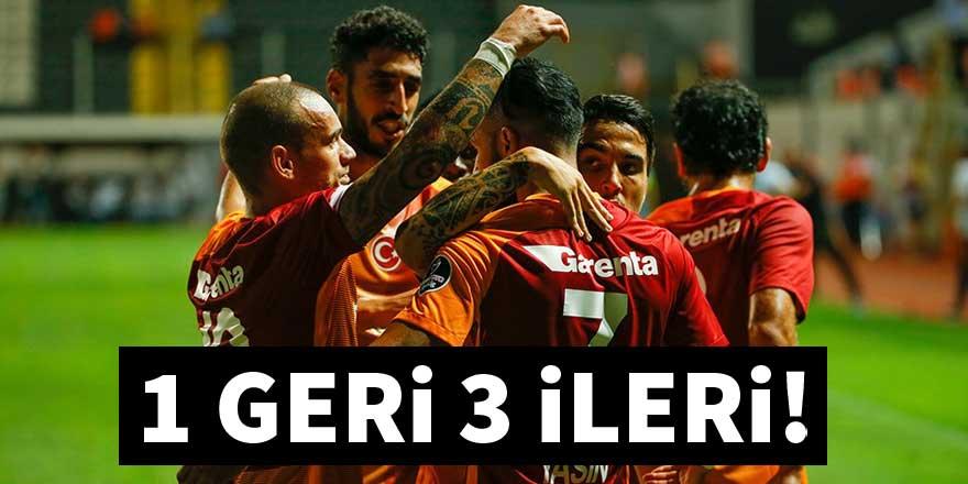 Galatasaray Akhisar'ı deplasmanda devirdi