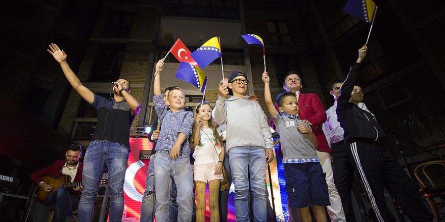 """Bosna Hersek'te """"Türk-Boşnak Kardeşlik Gecesi"""" düzenlendi"""