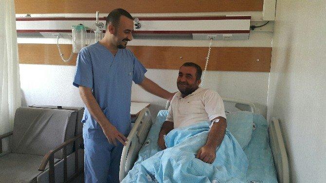 Kalbi duran hasta kurtarıldı