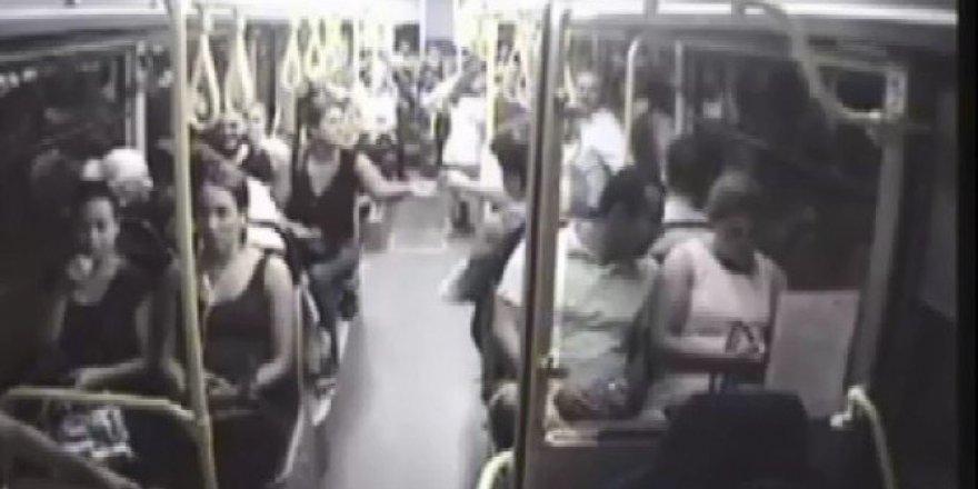 Halk otobüsünde ilginç olay