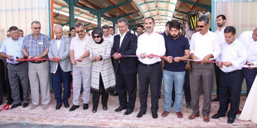 Karatay'da 15. pazar market törenle açıldı