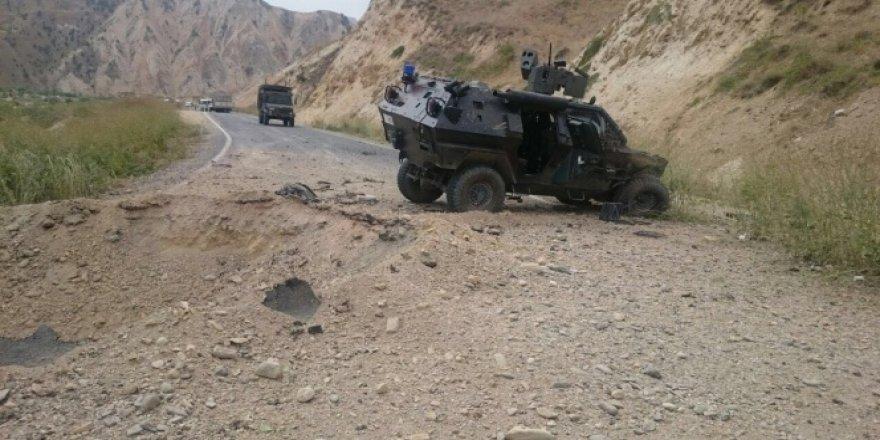 Askeri konvoya bombalı saldırı