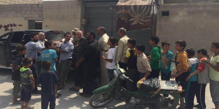 Cerablus halkının özgürlük nidaları: Şükran Erdoğan
