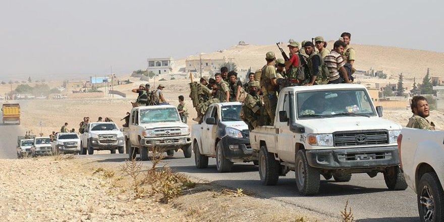 ÖSO Cerablus'un güneyinde yer alan Bir El-Kusa köyünü kurtardı