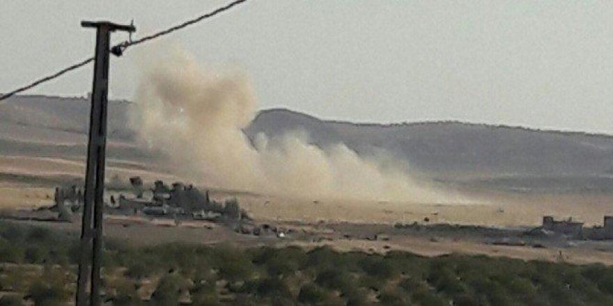 Cerablus'ta patlamalar devam ediyor